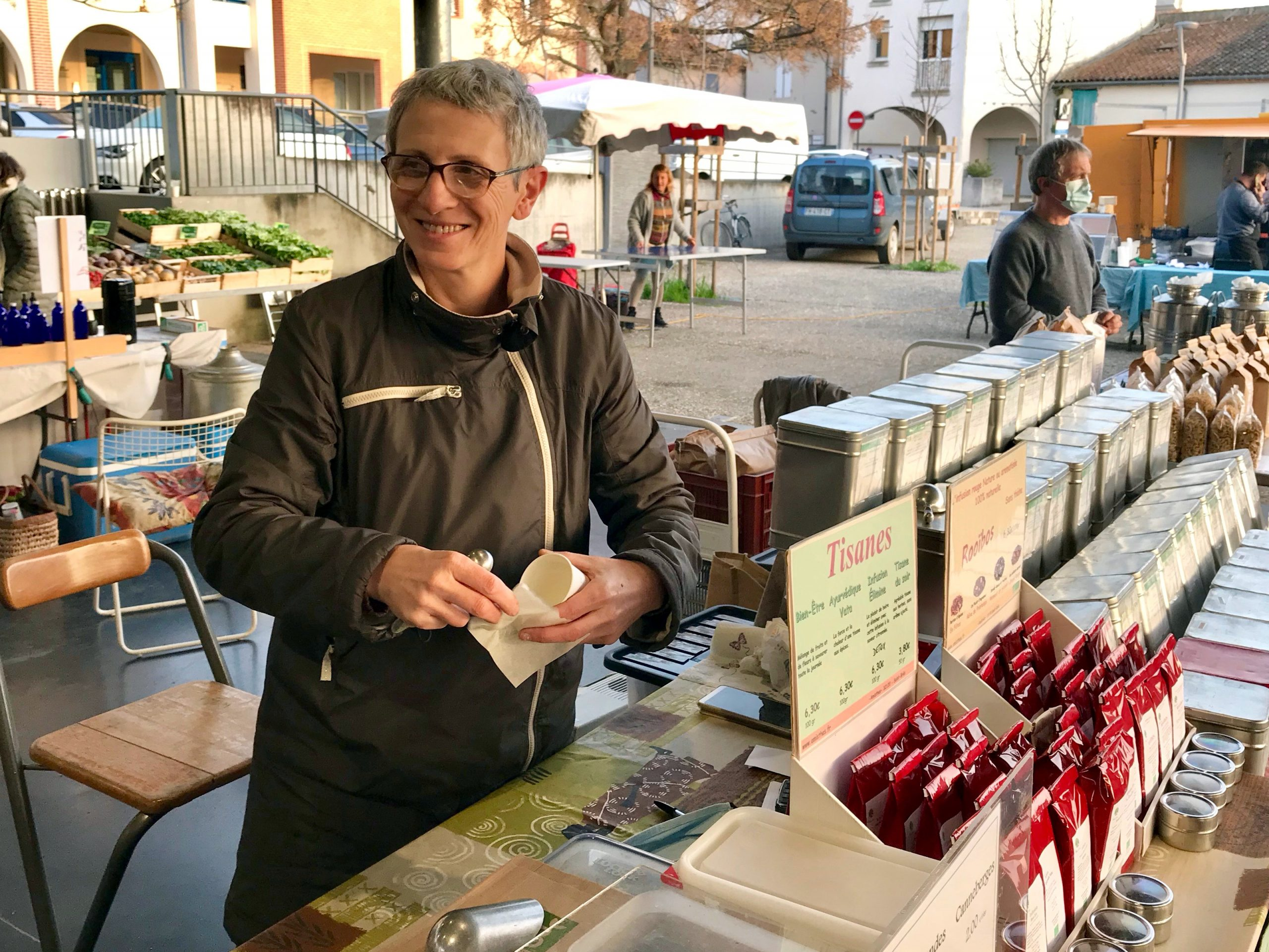 Amisthés - Marché bio de Villeneuve-sur-Lot